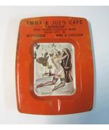 1950's Emma & Joe's Cafe Kauspedas Sioux City IA Pinup Art Advertising A... - $9.99