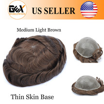GEX Toupee Mens Hairpiece MIRAGE Basement Human Remy Hair Replacement System 4# - $138.11