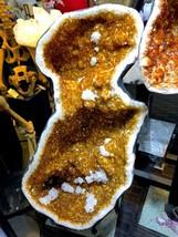 CITRINE DISPLAY HOME DECOR CRYSTAL QUARTZ PIRATE GOLD TREASURES MINERAL ... - $52,450.00