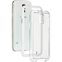 New Clear Case Samsung Galaxy S5  - Case-Mate Studio Collection Naked To... - $4.94