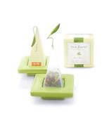 Tea Forte Two Ceramic Tea Bag Infuser Trays Gre... - $9.00