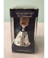 Hummel Silver Plated Annual Bell Limited Ed 1987 Follow the Leader West ... - $14.99