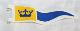 Playmobil Crown Flag Blue Yellow Replacement Part Medieval Jousting  Dio... - $1.48