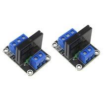 2 x 1 Channel 5V OMRON High Level Trigger Solid State Relay Module For Arduino - $8.90