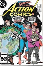 Action Comics Comic Book #573 DC Comics 1985 VERY FINE - $2.25