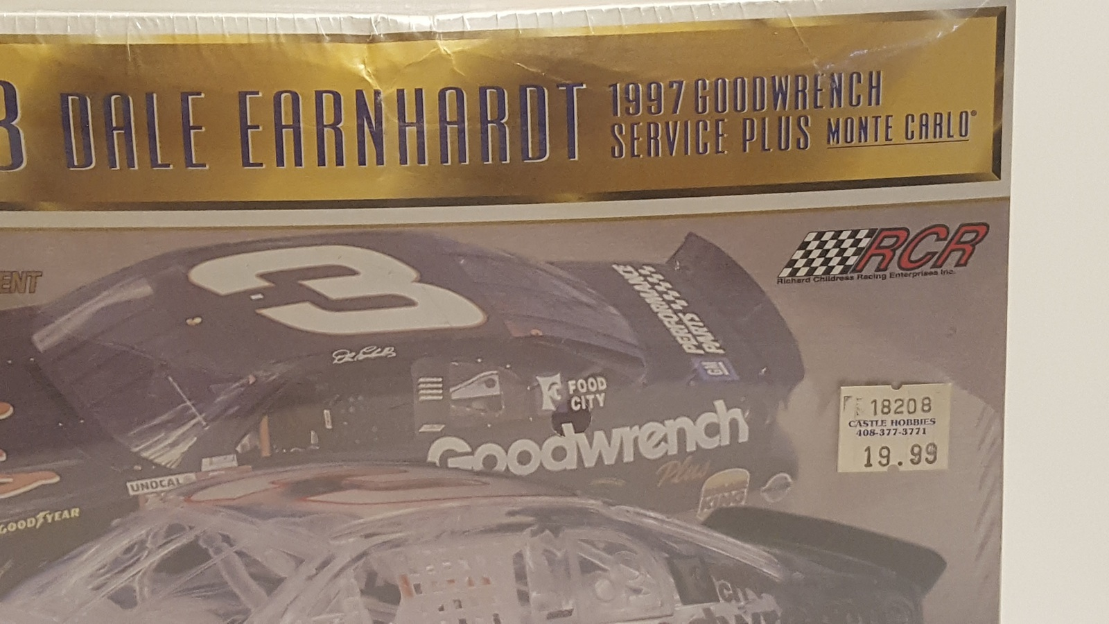 Revell #3 Dale Earnhardt 1997 Goodwrench Service Plus Monte Carlo model New