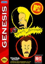 Beavis and Butthead SEGA GENESIS Video Game - $15.97