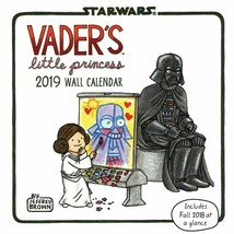 Vaders Little Principessa 2019 Calendario da Parete, Da Chronicle Libri
