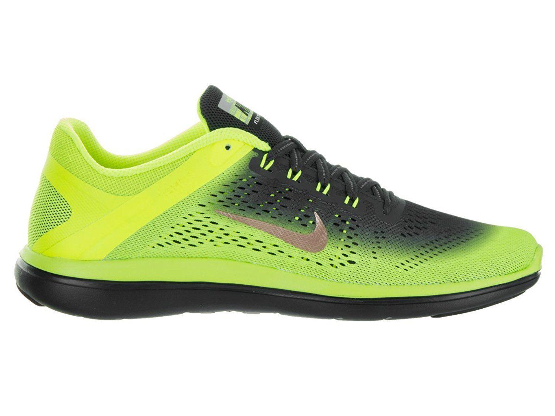 Men's Running Shoe Yellow Nike Flex 2016 RN Shield 852434 700