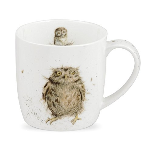 Royal Worcester Wrendale Designs Mug - What a Hoot, 11 oz
