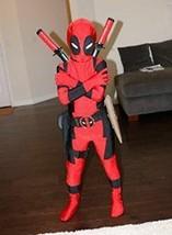 Halloween X-MAN Deadpool Costume For Kids/Adults Children/  Full Bodysuit - $12.99+