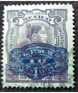 1910 Mexico 5 Centavos Hidalgo Stamp - $0.99