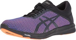 ASICS Mens fuzeX Rush cm Running Shoe, Phantom/Hot Orange, 11.5 Medium US - $130.88