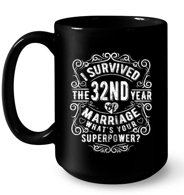 32 Wedding Anniversary Gifts: Anniversary Gift 32nd 32 Years Wedding Marriage Gift