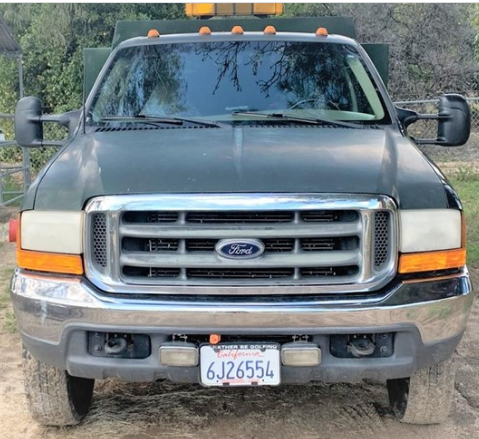2000 FORD F550 For Sale In Mountain Center, California 92561