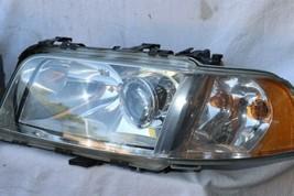 01-03 Audi A8 S8 Quattro HID Xenon Headlight Head Lights Set L&R - PRO POLISHED image 2