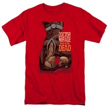 Doctor Mirage Talks to the Dead T Shirt Valiant Comics graphic tee red VAL197 image 1