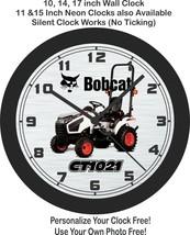 Bobcat CT1021 Tractor Wall Clock-Free US Ship - $27.71+
