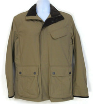 TIMBERLAND MEN'S BRITISH KHAKI FULL ZIP WATERPROOF JACKET Size S, #6134J... - $75.59