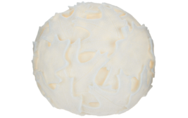 "Barbara King 9"" Illuminated Embossed Sandstone Sphere Fall Leaves Garden... - $38.69"
