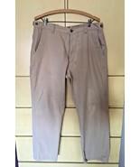Scandia Woods 100% Cotton Tan Khaki Flat Front Men's Pants 34M - $7.70