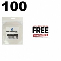 100 CheckOutStore Stamp & Die Clear Storage Pockets (6 x 6) **2 DAY AIR - $15.95