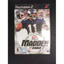 Refurbished Madden NFL 2002 For PlayStation 2 PS2 Football - $5.49