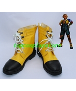Final Fantasy tidus cosplay shoes boots ver one shoe boot - $62.00