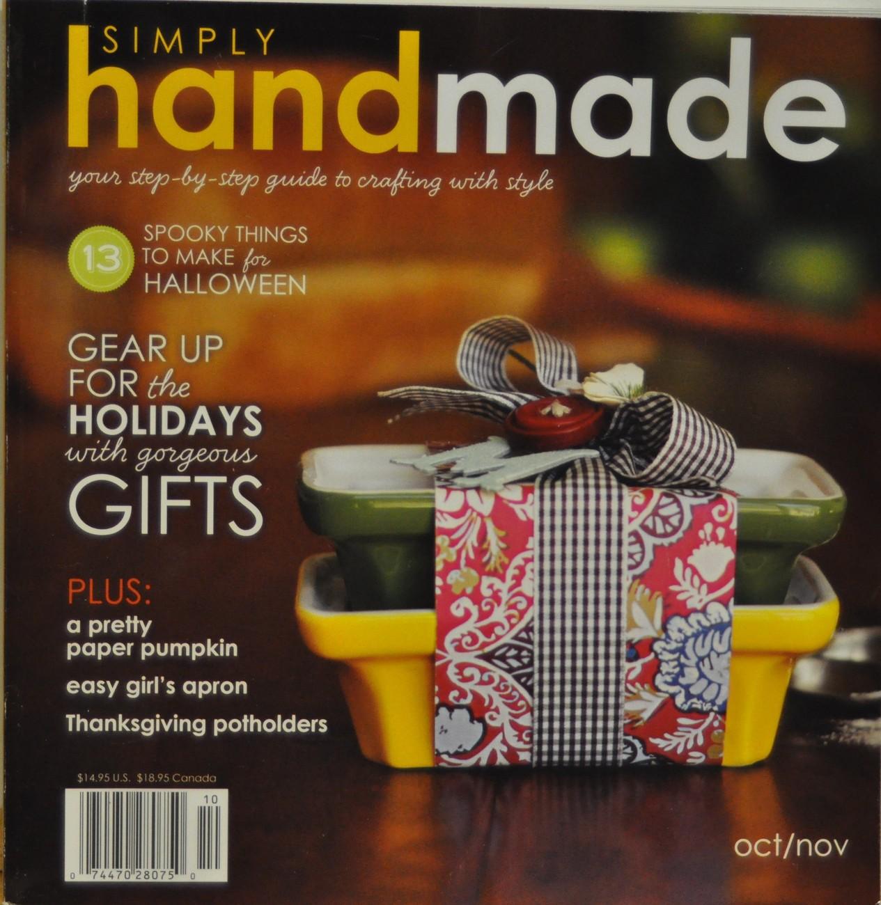 Simply handmade oct nov 09