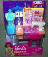 Barbie You Can Be Anything FASHION DESIGN STUDIO Playset New - $18.50
