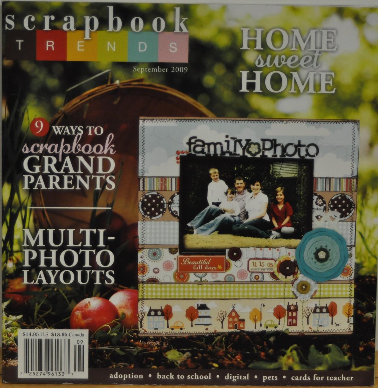 Scrapbook sept 09