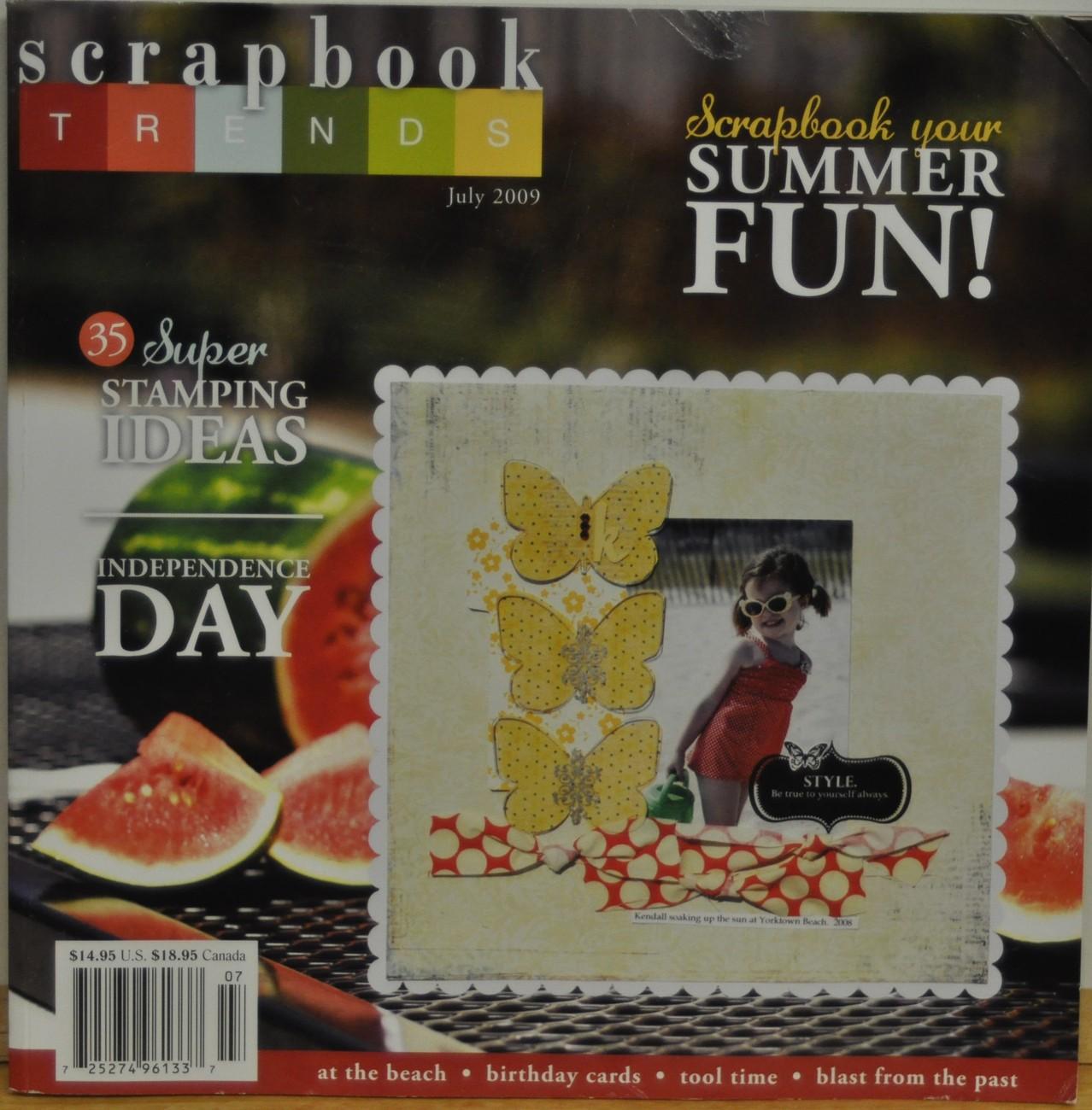 Scrapbook july 09