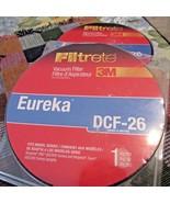 Lot of 2 Eureka DCF-26 Allergen Vacuum Filter by 3M Filtrete #67836 - $18.80