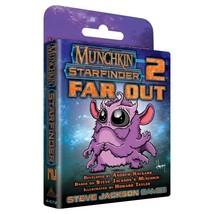 Munchkin Starfinder 2 Far Out Board Card Game Multiplayer Steve Jackson ... - $14.99