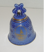 1976 New Year Commemorative  Bing&Grondahl  Old North Church Porcelain Bell - $6.99
