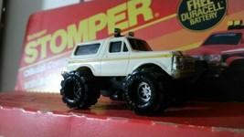 Rare Early 1980's White Side Clip Schaper Stomper 4x4 Ford Bronco w/ Rep... - $99.00