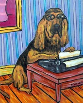 border collie dog coffee 13x19  art PRINT animals impressionism gift new