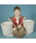 Gebruder Heubach Dutch Boy Toothpick or Match H... - $30.00