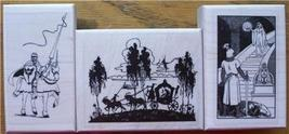 LOT 3 BRAND NEW RUBBER STAMPS ~ KNIGHTS - $20.00