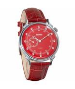 Vostok Classic Womens 581590 Mechanical Red Dial Wrist Watch Cubic Zirconia - $76.03