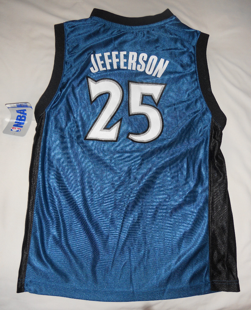 Al Jefferson #25 Minnesota Timberwolves Youth Jersey NWT