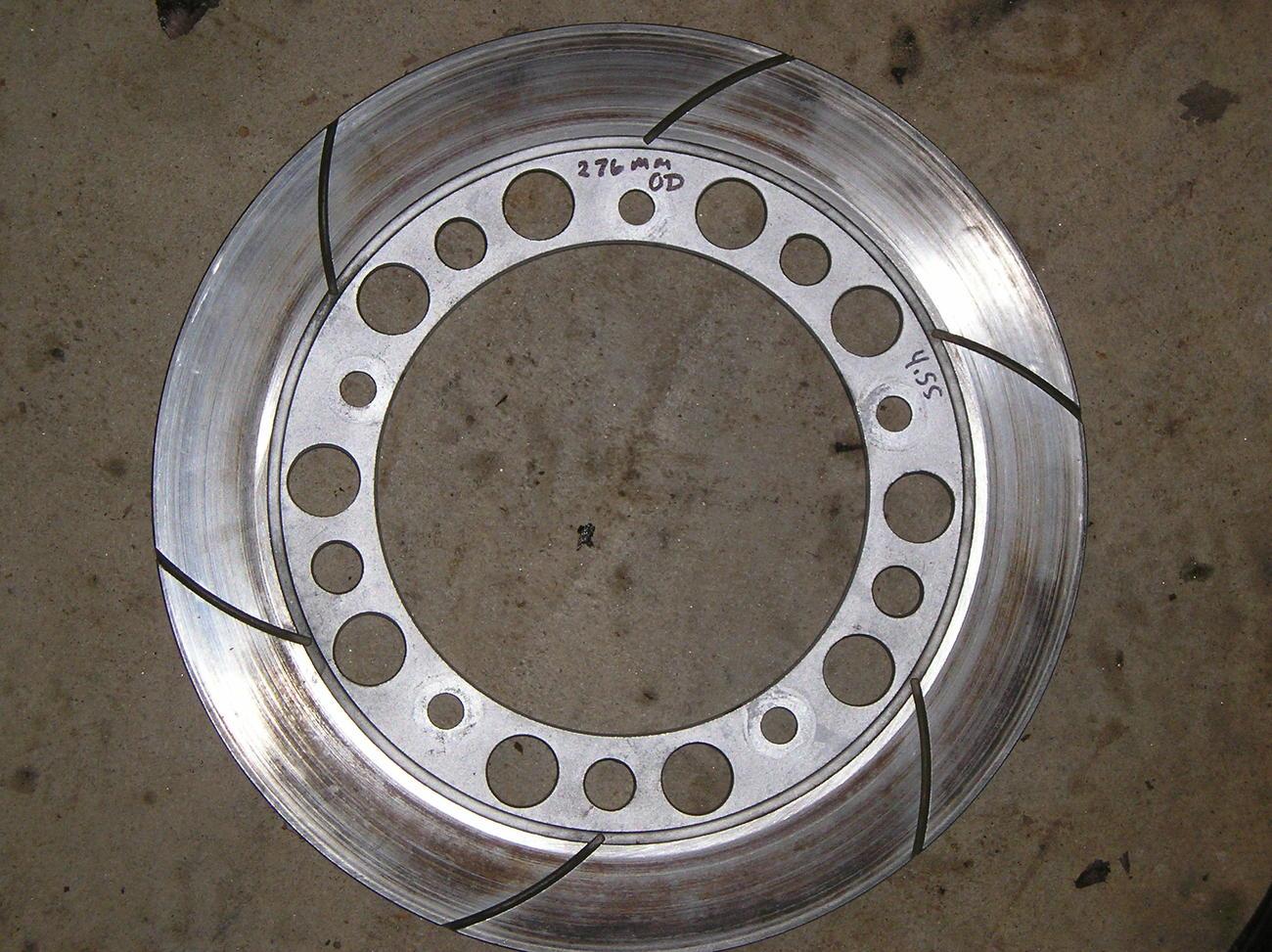 Honda VF750C '82-'84 front brake rotor left