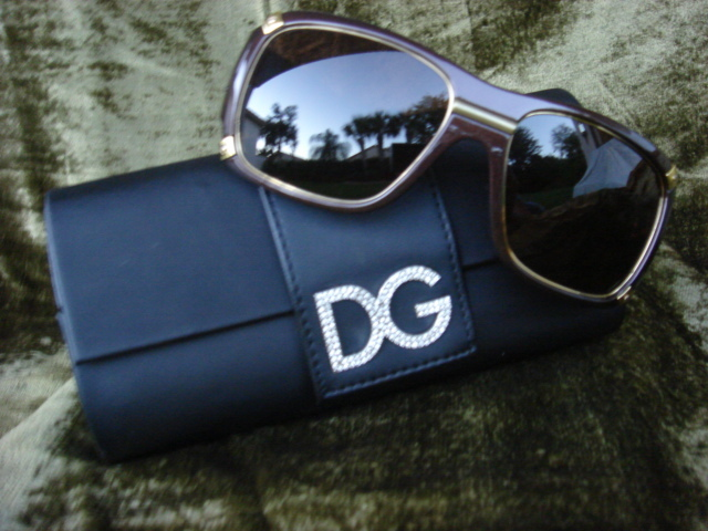 Dolce & Gabbana Brown Sunglasses $325++