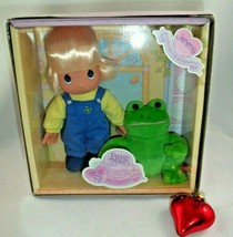 Precious Moments My Precious Pal Jeremy Jumpin for Fun&Friendship Boy and Frog - $25.73