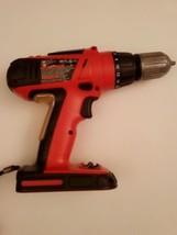 "Black and Decker HPG1800 Cordless 18V 3/8"" Drill/Driver - $28.04"