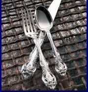 GORHAM LA SCALA STERLING SILVER PLACE SPOON