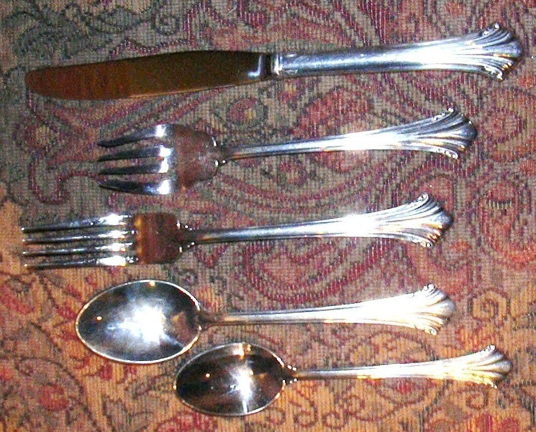 REED & BARTON HIGHLANDS 5 PIECE PLACE SETTING