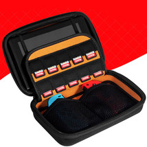 For Nintendo Switch Travel Carrying Hard Case Holder Bag with 10 Game Ca... - $9.16
