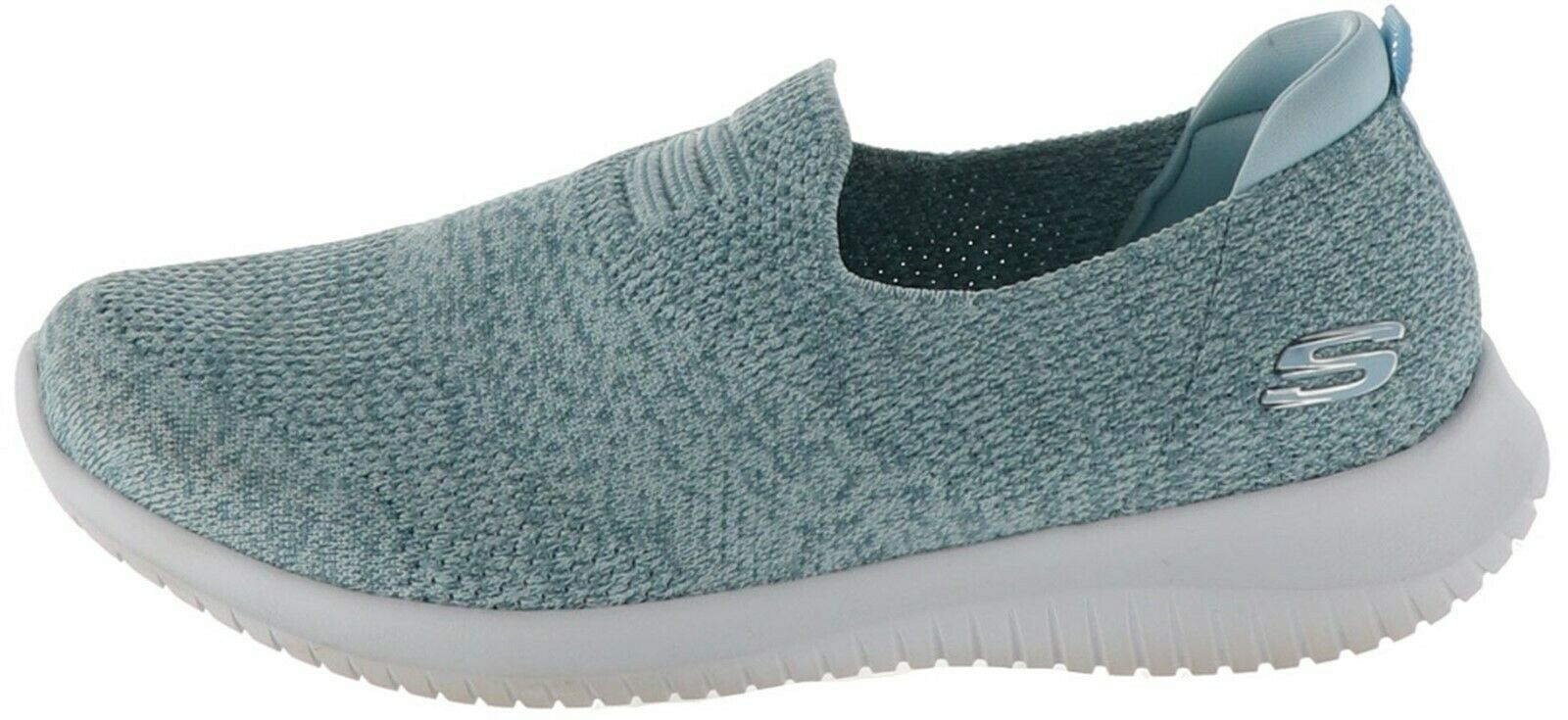 Primary image for Skechers Ultra Flex Flat Knit Shoes Harmonious Light Blue 8.5M NEW A349786