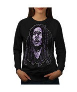 Face Celebrity Bob Marley Jumper Legend idol Women Sweatshirt - $18.99
